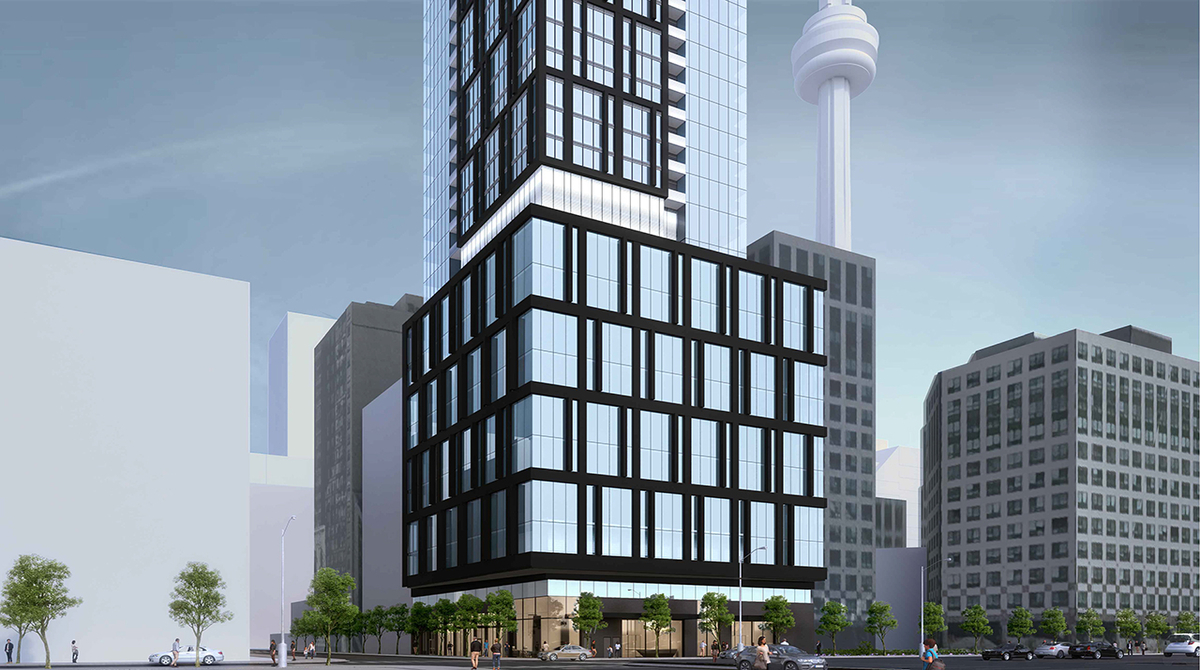 66 storey mixed use development proposed in toronto