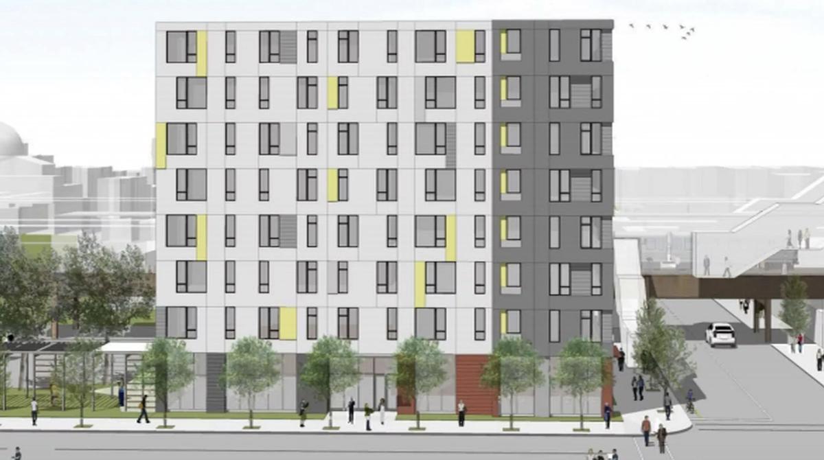 91 unit apartment