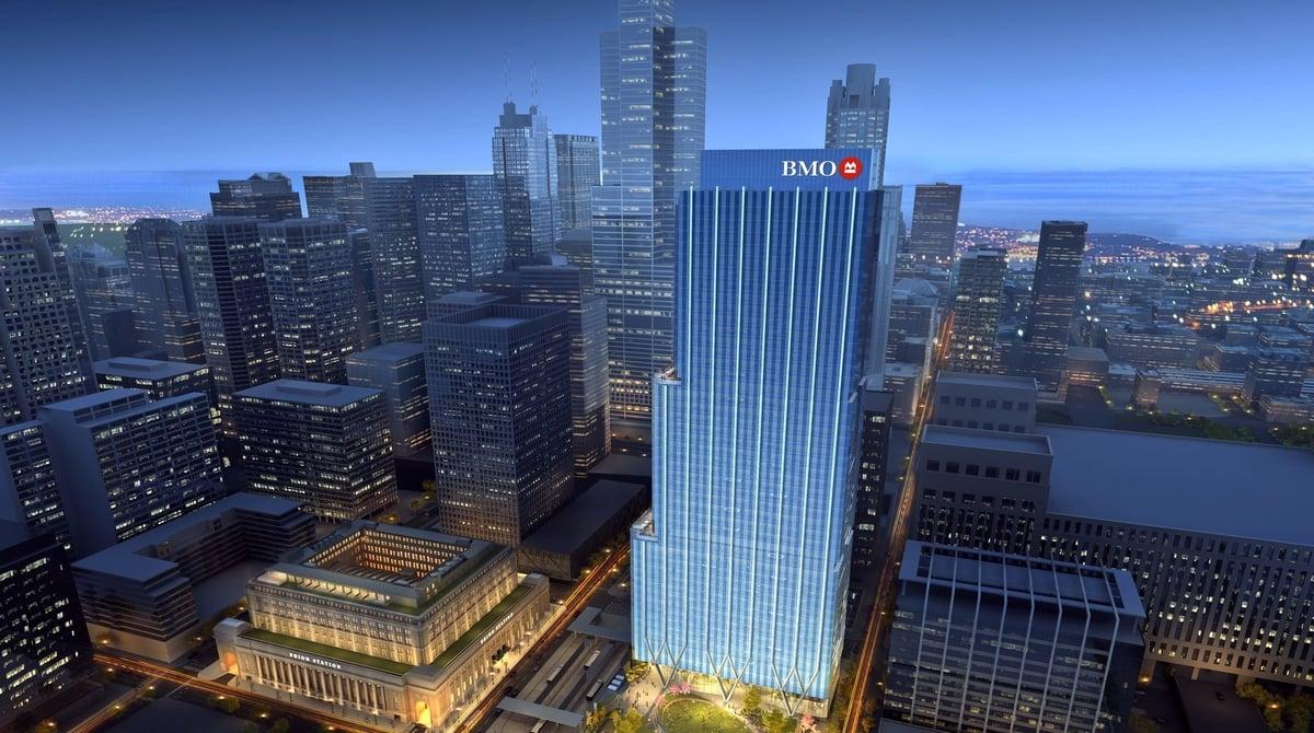 BMO Harris headquarters in Chicago