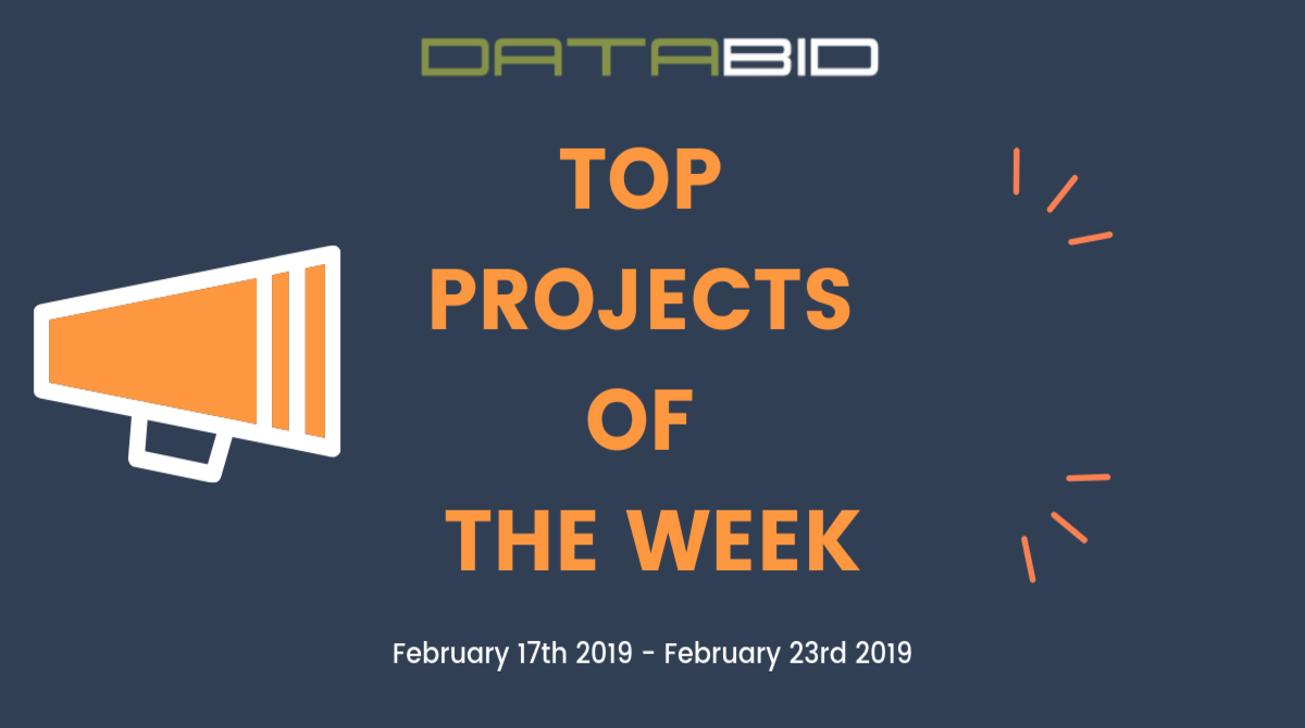 DataBid Top Leads of The Week 02172019 - 02232019