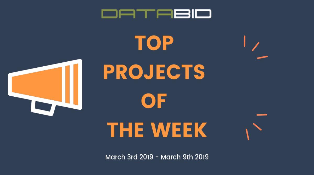 DataBid Top Leads of The Week 03032019 - 03092019