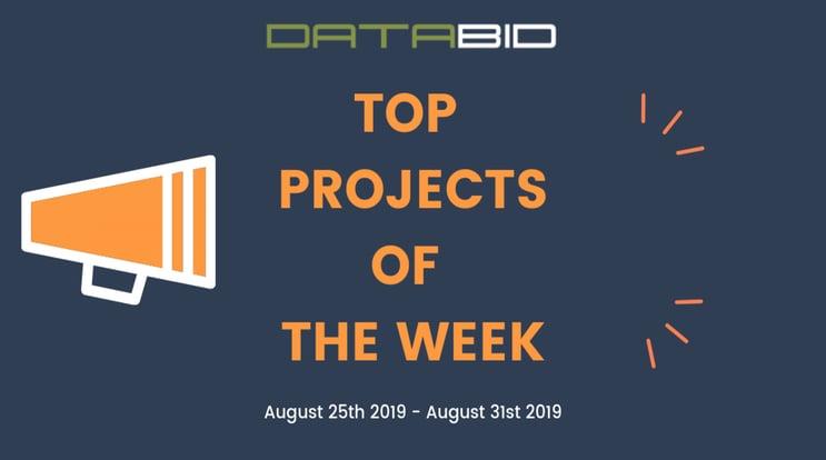 DataBid Top Leads of The Week 08252019 - 08312019