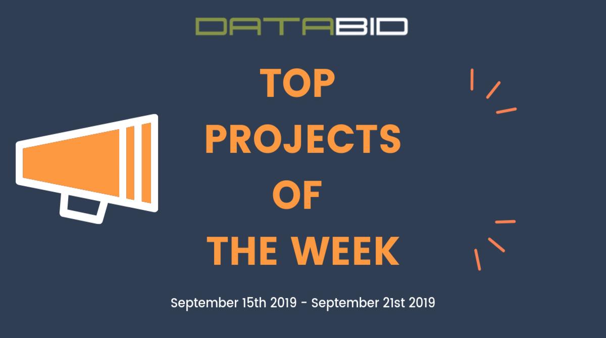 DataBid Top Leads of The Week 09152019 - 09212019