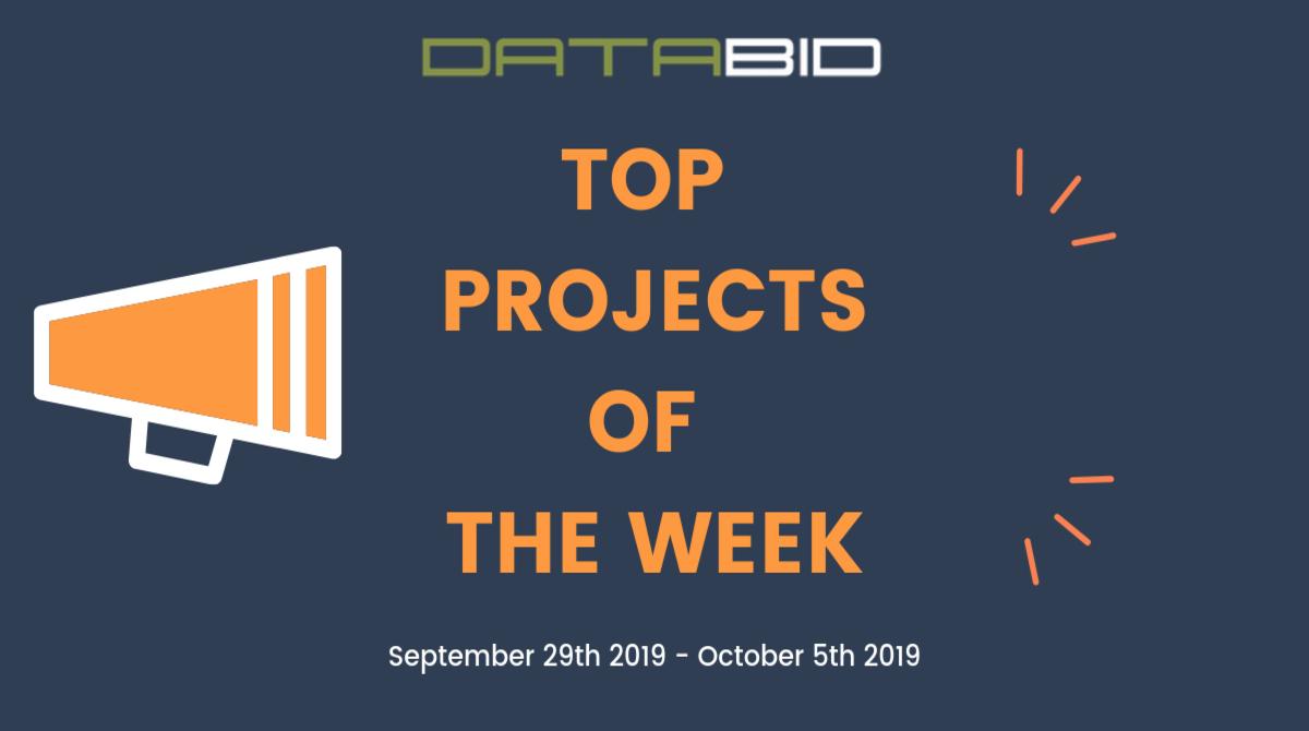 DataBid Top Leads of The Week 09292019 - 10052019