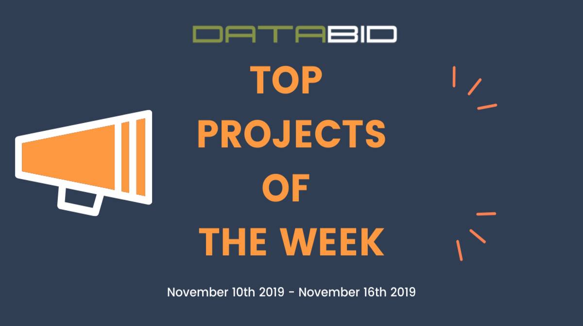 DataBid Top Leads of The Week 11102019 - 11162019