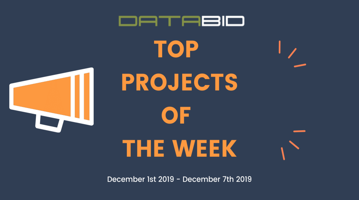 DataBid Top Leads of The Week 12012019 - 12072019
