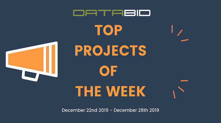 DataBid Top Leads of The Week 12222019 - 12282019