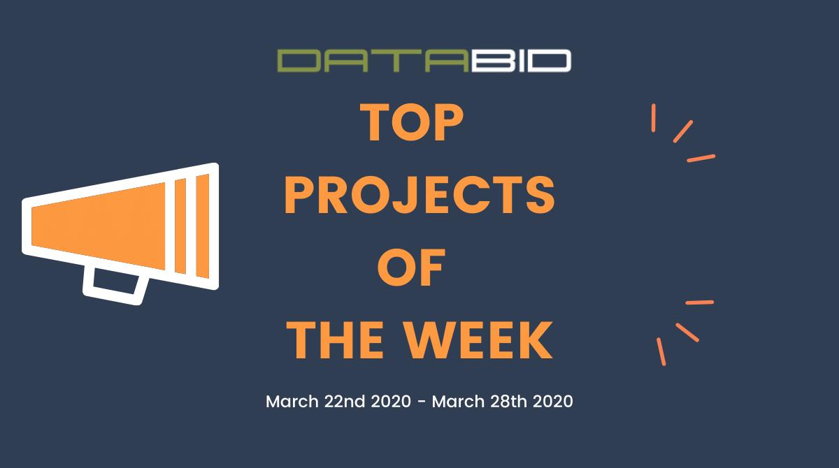 DataBids Top Leads of The Week 03222020 - 03282020