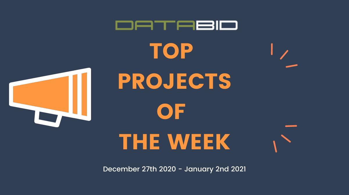 DataBids Top Leads of The Week 12272020 - 01022021