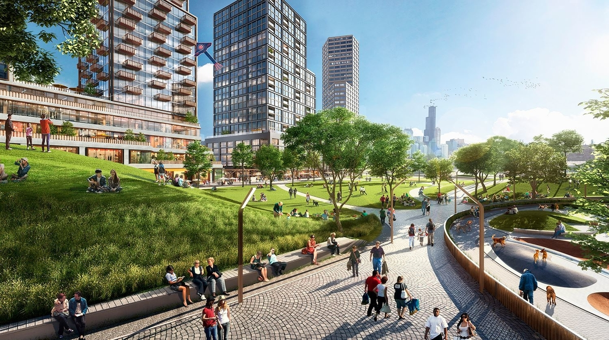 Lincoln Yards Life Sciences Hub planned by Sterling Bay