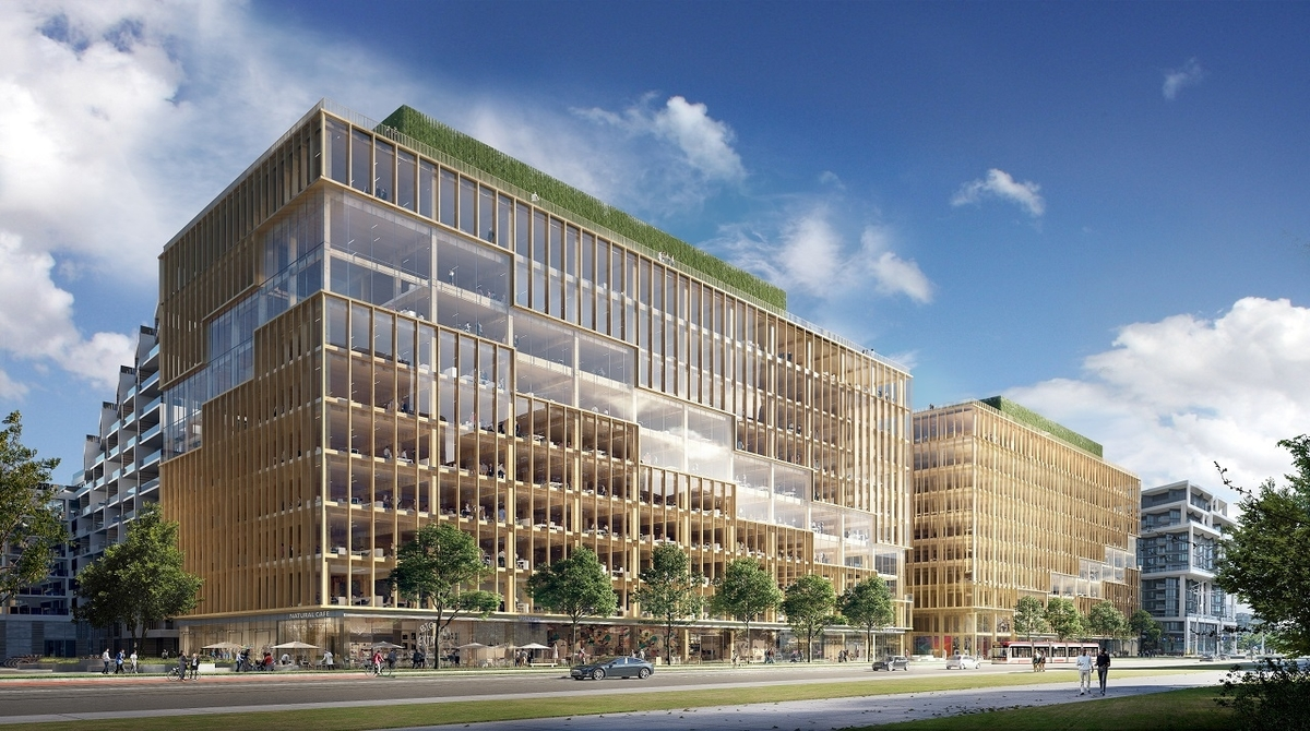 Mass Timber T3 Bayside has groundbreaking