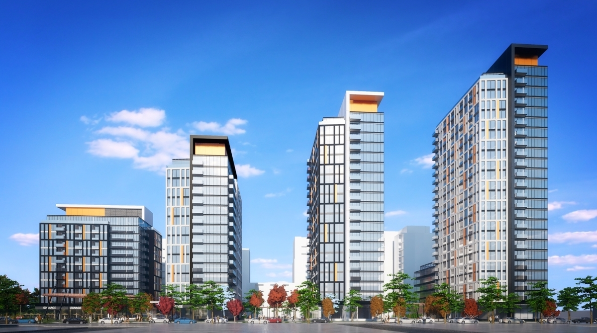 Multi-tower community proposed by SmartCentres REIT