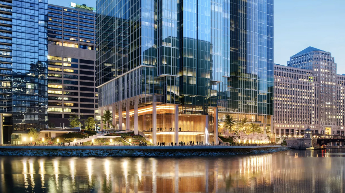 Salesforce tower chicago expansion
