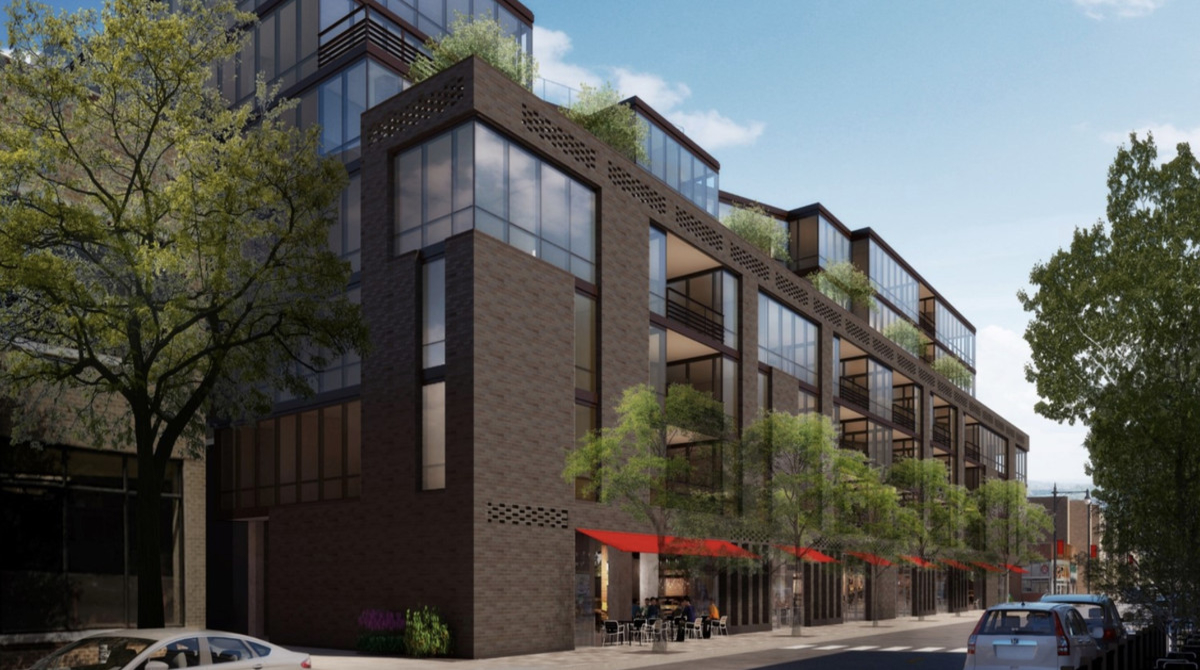 Transit oriented apartments for Lakeview