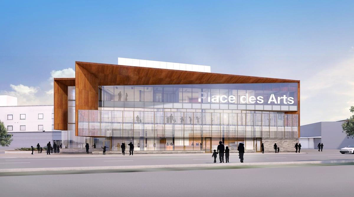 $30 Million Place des Arts Begins Construction