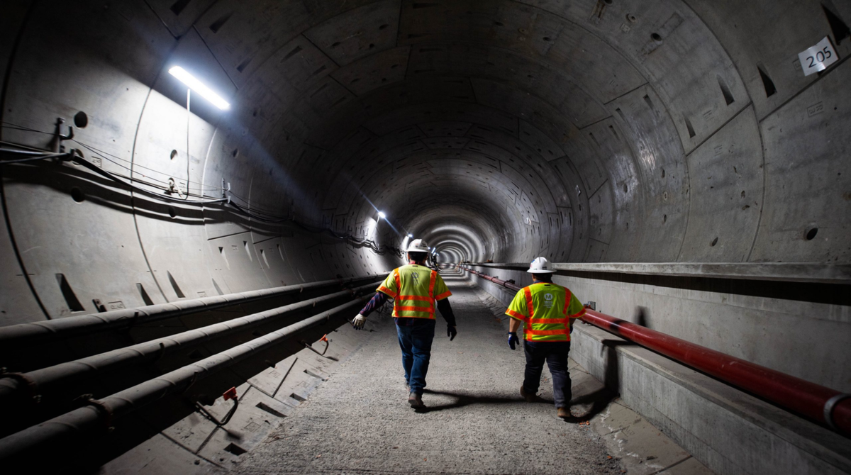 tunnels for toronto transit projects